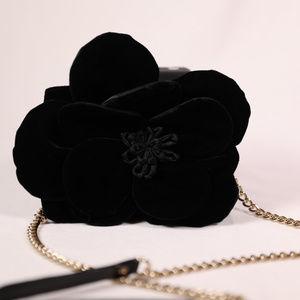 Kate Spade Skipper Velvet Flower Crossbody Bag